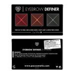 PAC Cosmetics Eyebrow Definer (3 Colors) EYBR_BRWDEF3X EYES