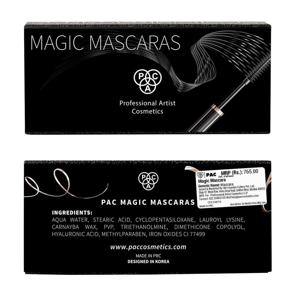 PAC Cosmetics Magic Mascara EYMC_MGICFIBR EYES