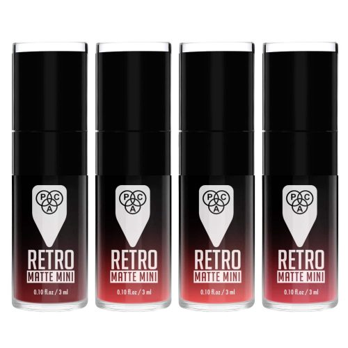 Retro Matte Mini (4 in 1) - 01 (Pink)