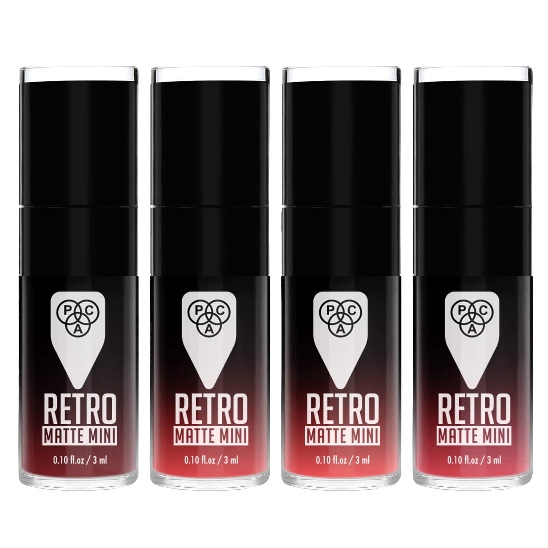 PAC Cosmetics Retro Matte Mini (4 in 1) - 01 (Pink) LPLL_RTROMATMINI01