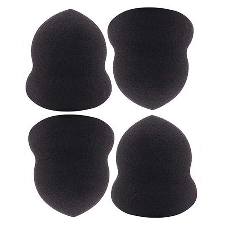 PAC Cosmetics Mini Sponge Set (Calabash) (Black) (4 Pc)