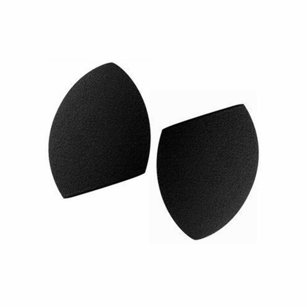 PAC Cosmetics Mini Sponge Set (Olive Cut) (Black) (2 Pc)