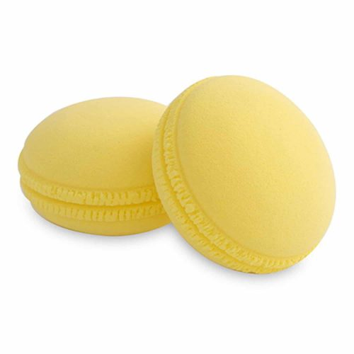 PAC Cosmetics Mini Sponge Set (Macaron) (Yellow) (2 Pc)