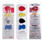PAC Cosmetics 5 in 1 Mini Set (Multi-Shapes) (Multi-Color) (5 Pc)