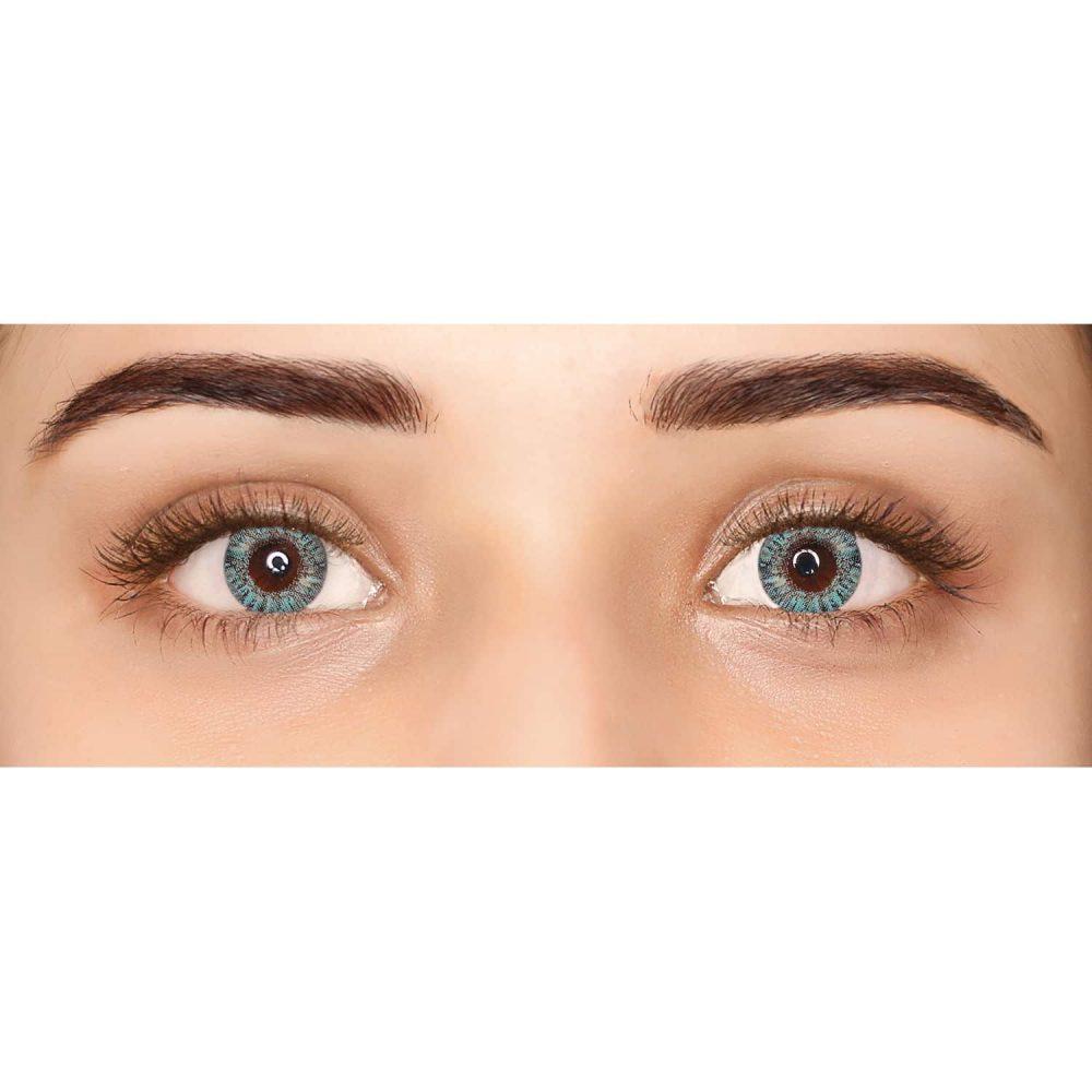 PAC Cosmetics IRIS Contact Lenses - Turquoise (1 Pair) EYCL_IRIS1P01 EYES