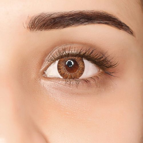 PAC Cosmetics IRIS Contact Lenses - Brown (1 Pair) EYCL_IRIS1P04 EYES
