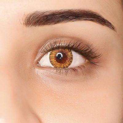 PAC Cosmetics IRIS Contact Lenses - Honey (1 Pair) EYCL_IRIS1P05 EYES