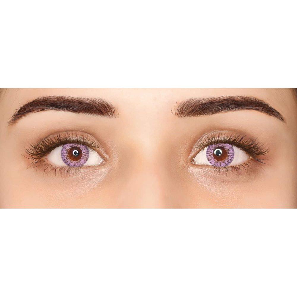 PAC Cosmetics IRIS Contact Lenses - Violet (1 Pair) EYCL_IRIS1P08 EYES