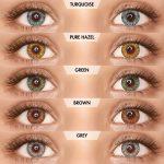 PAC Cosmetics IRIS Contact Lenses - Mix (5 Pairs) EYCL_IRIS5P09 EYES