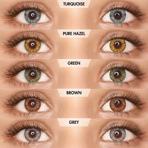 PAC Cosmetics IRIS Contact Lenses - Mix (5 Pairs) EYCL_IRIS5P09 EYES