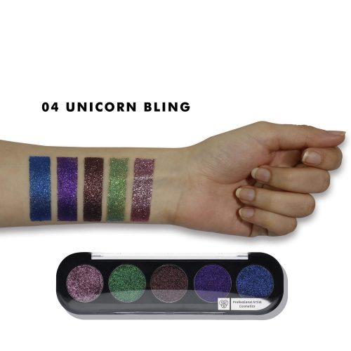 Glitter Eyeshadow X5 - Unicorn Bling