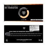 PAC Cosmetics Ultra Studio HD Foundation X10 - [C] FCFD_STUHDCRM10X