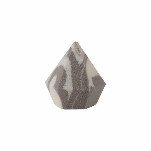 Diamond Sponge (Diamond) (Dark Grey +White) (1 Pc)