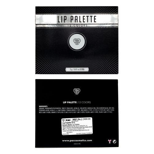 Lip Palette X12
