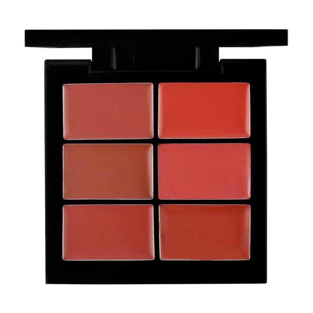PAC Cosmetics Lip Palette X6 - 01 (Pink) LPPL_6X01