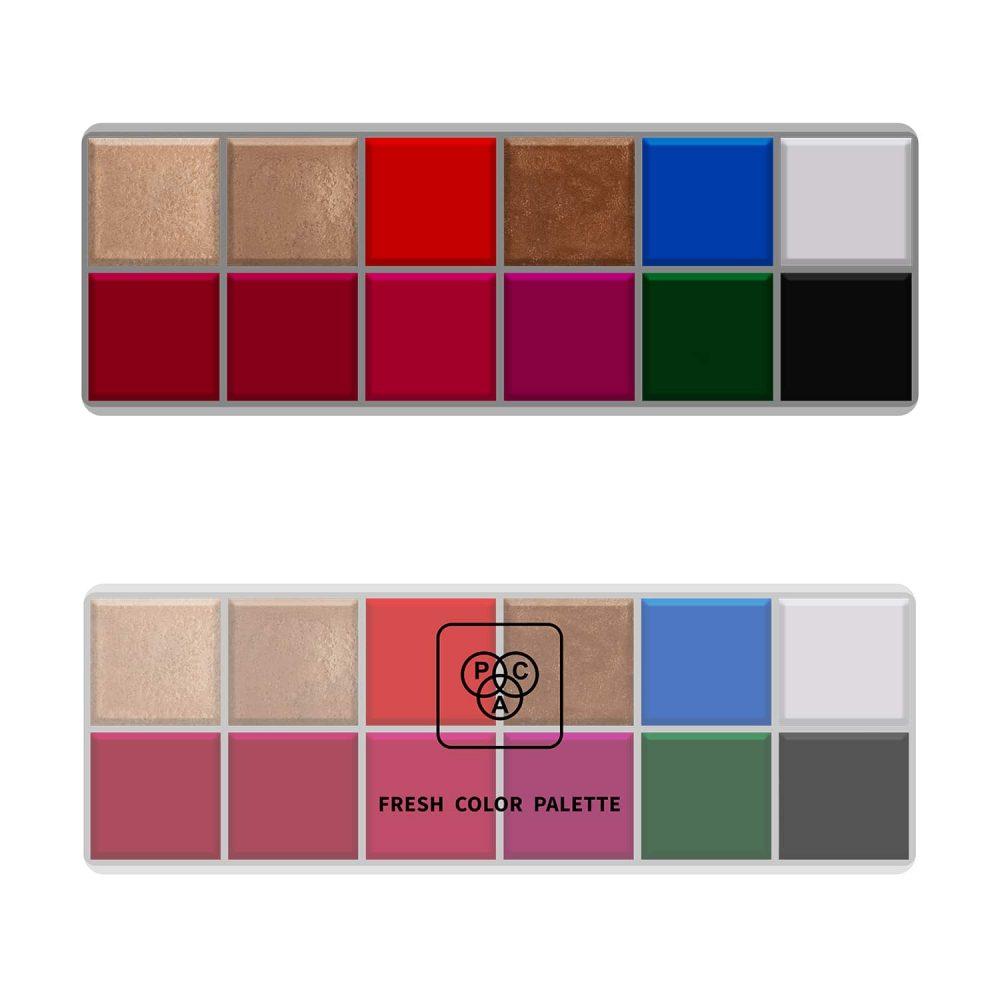 PAC Cosmetics Fresh Color Eyeshadow X12 - 01 EYPL_FRSH12X01 EYES