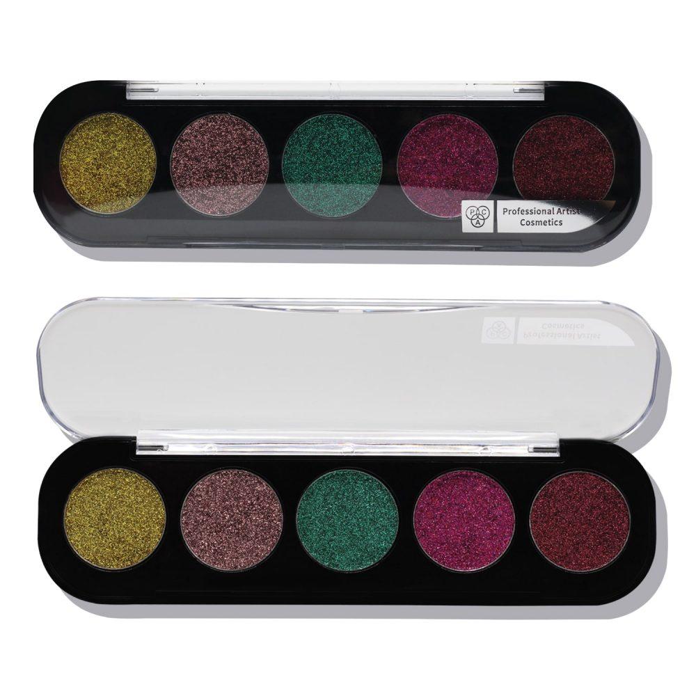 PAC Cosmetics Glitter Eyeshadow X5 - 03 (Sweet 16) EYPL_GLITR5X03 EYES