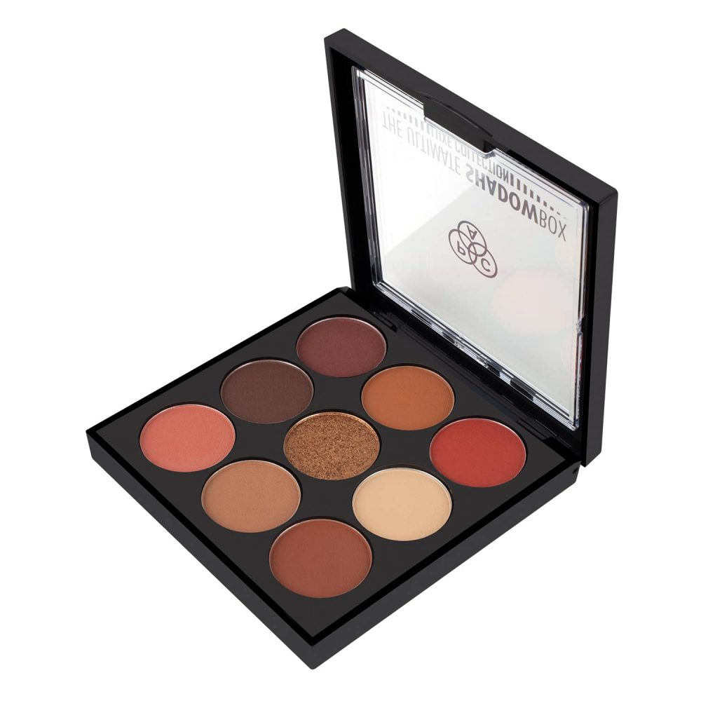 PAC Cosmetics Not So Ordinary (Warm), Luxe Shadowbox X9 EYPL_LUXE9X04 EYES