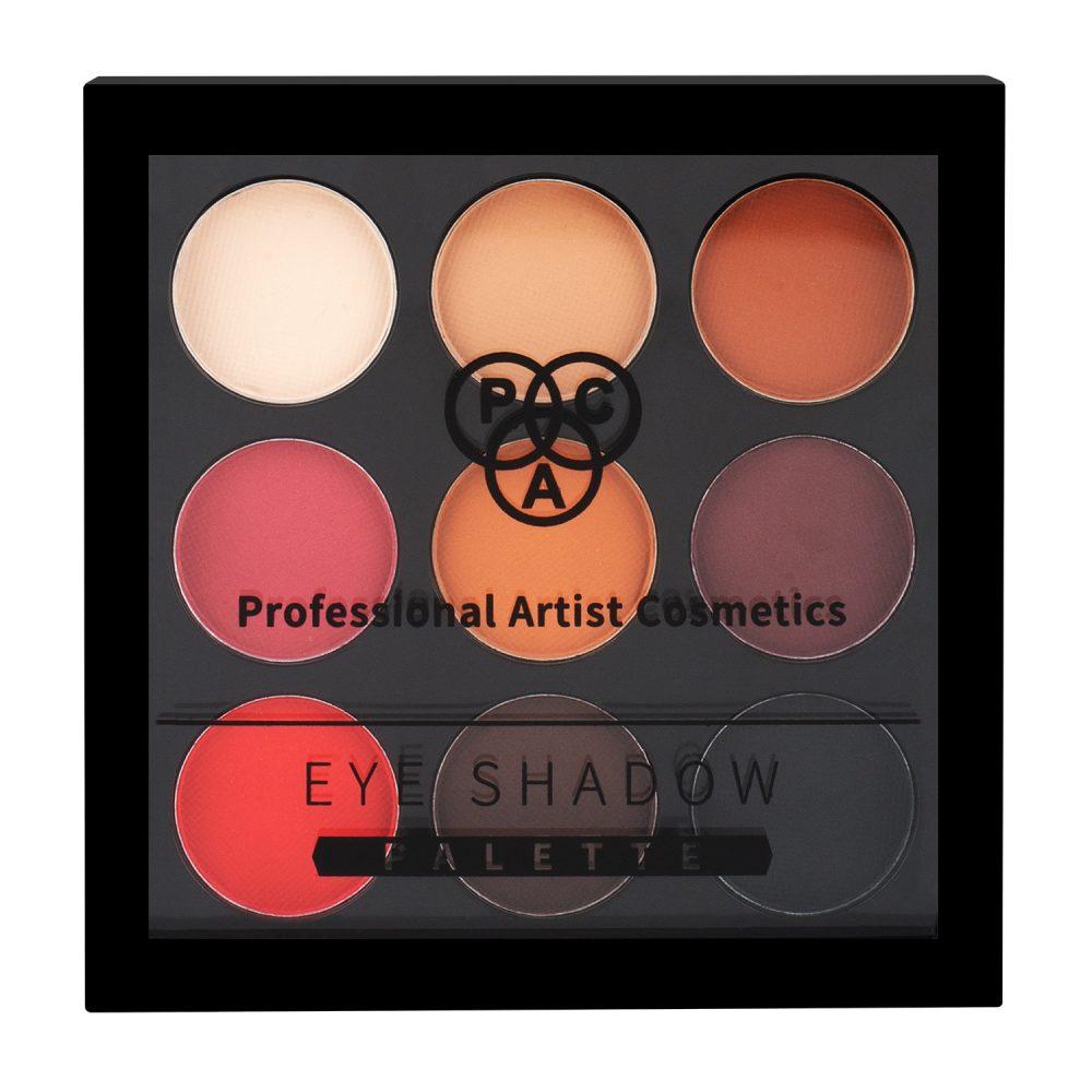 PAC Cosmetics Eyeshadow X9, [M] - Neutral EYPL_MAT9X01 EYES
