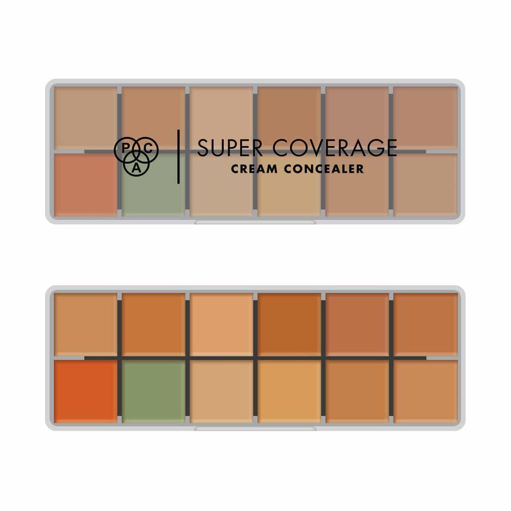 PAC Cosmetics Super Coverage Cream Concealer X12