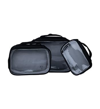 My Clear Makeup Pouch (Set of 3)